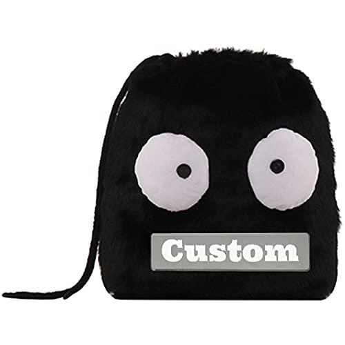 Nome personalizzato Strap Sostituzione Messenger Bag per gli uomini Crossbody Tela Borse Scuola Tela per gli uomini, Hei-maorong, Taglia unica,