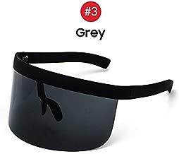 SABRKLC Sunglasses VIVIVBEE Nicki Minaj Women Visor Sunglasses 2019 Trending Product Mirror Fun Sun Glasses UV400 Fashion Shades