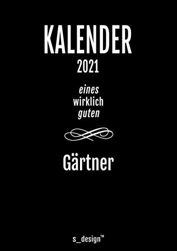 Kalender 2021 für Gärtner: DIN A4 Tagesplaner / Wochenplaner / Terminkalender für das ganze Jahr: Termin-Planer / Termin-Buch / Journal für alle Tages-Termine von 7 bis 21 Uhr (4 Termine pro Stunde)