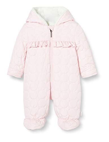 Sanetta Baby-Mädchen Outdooroverall rosa Winter-Overall in mädchenhaftem Kidswear perfekt für die kalte Jahreszeit, 068