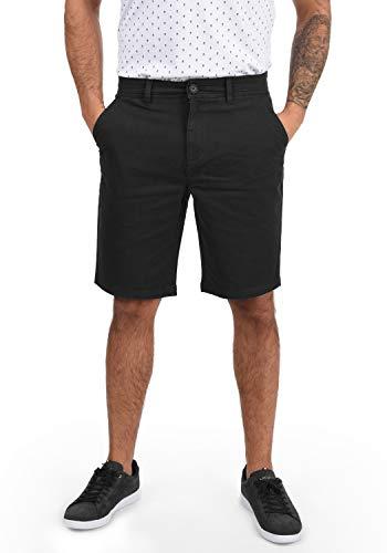 !Solid Lomego Herren Chino Shorts Bermuda Kurze Hose, Größe:XL, Farbe:Black (9000)