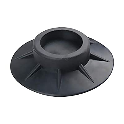 Desirabely Universal Anti Vibration Rubber Feet Pads Washing Machine Rubber Foot Pads for Anti-vibration Anti-Walk Anti Slip Mat Ideal for All Makes of Washing Machine.