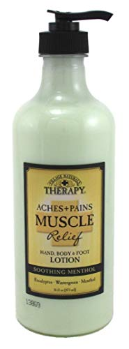Village Nat. Aches + Pains Muscle Relief Lotion 16 Ounce (473ml) (2 Pack)