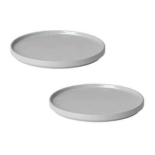 Blomus Dessertteller Mirage Gray Ø 20 x 1,8 cm