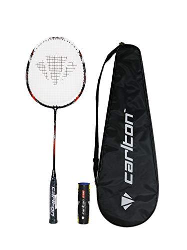 arlton Pro Badmintonschläger Serie + Cover und 6 Shuttles (Pro Force)