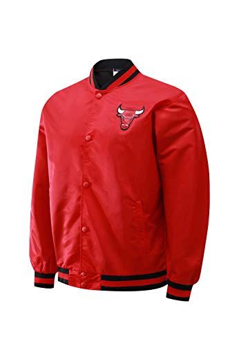 LXMR Camisetas de Baloncesto, Uniformes de Baloncesto Bulls, Chaquetas, Uniformes de Juego, Uniformes de Entrenamiento para Aficionados de Bulls, Chaquetas Deportivas-Red-XL
