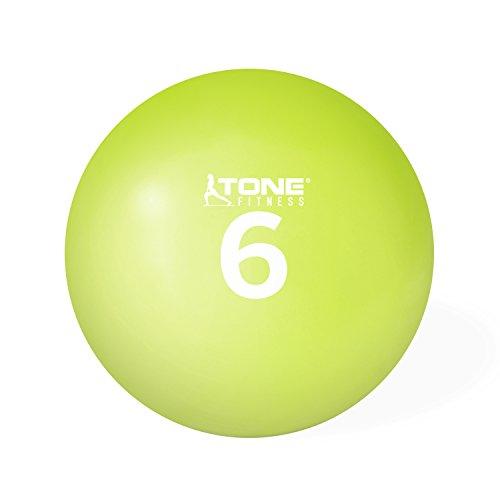 Tone Fitness Bola de tonificação pesada macia HHKC-TN006, 2,7 kg