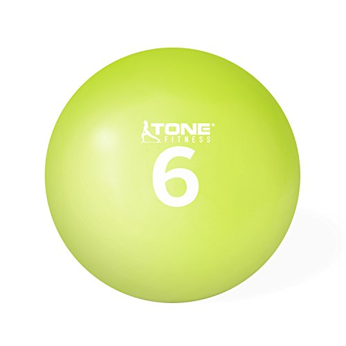 Tone Fitness HHKC-TN006 Soft Weighted Toning Ball, 2,7 kg