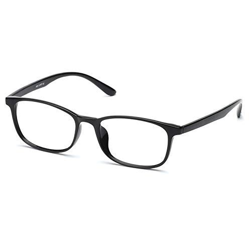 Lector Progresivo De Enfoque Múltiple para Hombres, Gafas Y Gafas De Sol De Protección contra La Radiación UV Fotocromáticas para Exteriores,Bright Black,+2.00