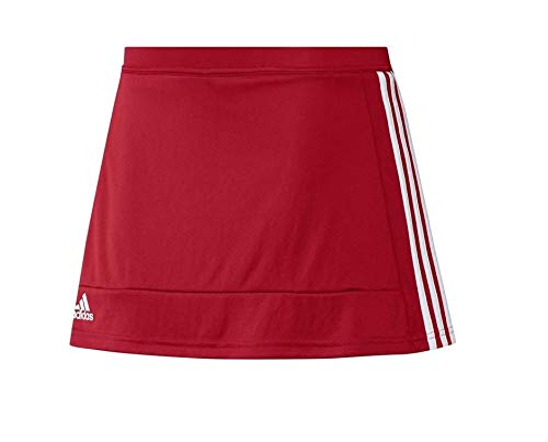 adidas Gonna Pantalone T16 YG - Gonna da Bambina, Bambina, Gonna, AJ5464, Rosso/Bianco...