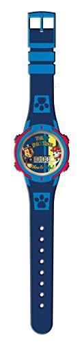 Kids Licensing  Reloj Digital Niños   Reloj Paw Control  Diseño Patrulla Canina  Reloj Infantil con Luz   Reloj de Pulsera Infantil Ajustable  Bisel Reforzado   Reloj de Aprendizaje   Licencia Oficial