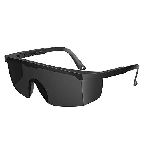 Auratrio Lichtschutzbrille Schutzbrille für die HPL/IPL Haarentfernung für Philip, Braun, Auratrio u.s.w (Grau)