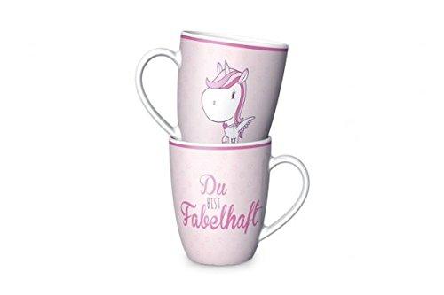 Kaffeebecher Einhorn Fabelhaft