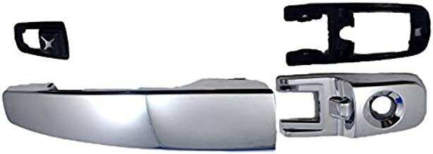 PT Auto Warehouse FO-3346M-FL - Outside Exterior Outer Door Handle, Chrome - Driver Side Front