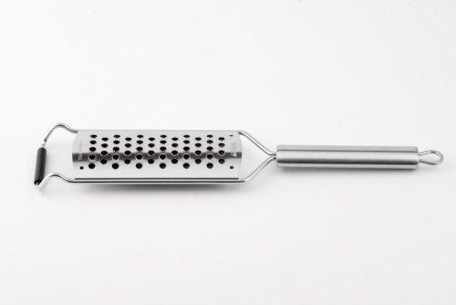 Weis Kronenreibe ultrascharf, Edelstahl, Silber, 32.5 x 6.5 x 2 cm