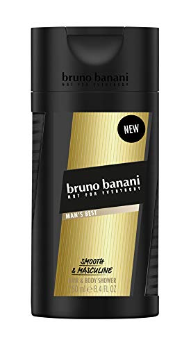 bruno banani MAN'S BEST Shower Gel, 1er Pack(1 x 250 ml)