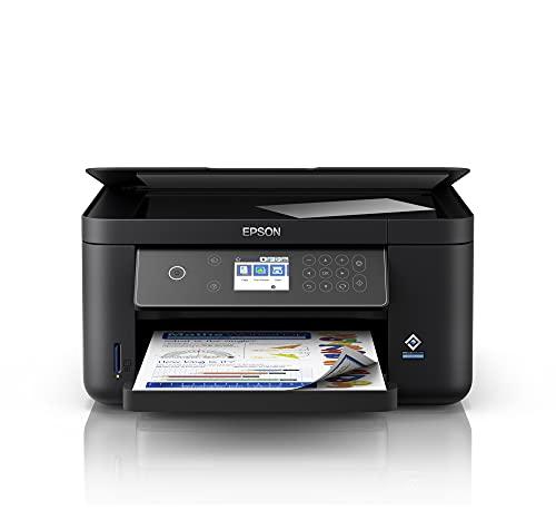 Epson Expression Home XP-5150 | Impresora WiFi A4 Multifunción con Impresión Doble Cara (Dúplex) y Pantalla LCD | Bandejas Papel Delantera y Trasera | 3en1: con Copiadora y Escáner | Mobile Printing
