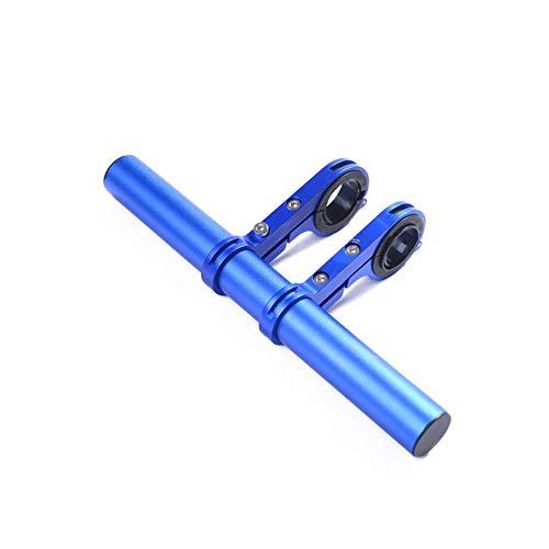 Vélo Guidon Extension Vélo Guidon Extender en Alliage D'aluminium Support pour Lampe GPS, Téléphone Haut-Parleur Mont Holder (1 Unité)