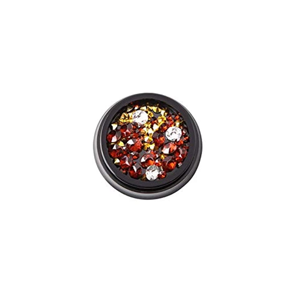 抽象化ピニオン虫LALONA [ ラローナ ] Vカットストーン (全12色) ジェルネイル ネイルアート レジン ビジュー ラインストーン (03. スモークトパーズ)