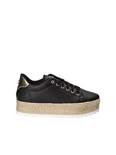 Guess Scarpe Donna Sneaker Corda Miriam Black FLMRI2LEA12 n° 38