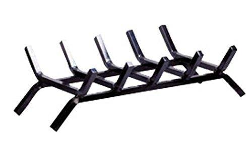 Aubry Gaspard AG1130 - Parrilla para chimenea (hierro forjado, 50 x 30 x 14 cm)