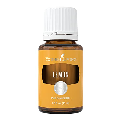 Young Living Lemon Essential Oil - Cleanses The Air and Eliminates Odors - 15 ml