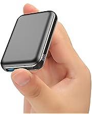 Powerbank, 22,5W PD 3.0 QC 5.0 LED-skärm 10000mAh bärbar snabbladdare, externt batteri med mobiltelefonhållare för Phone 12 Pro 11 Samsung S20 Huawei Xiaomi Tablet