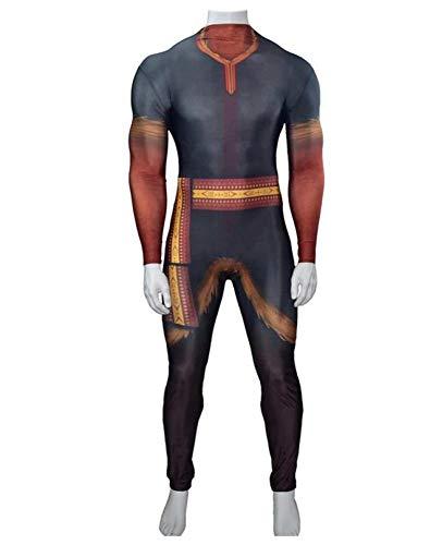 Frzen Disfraz De Cosplay Para Nios Body Elstico Kristoff Disfraz De Actuacin Para Adultos De Halloween,Child-XL
