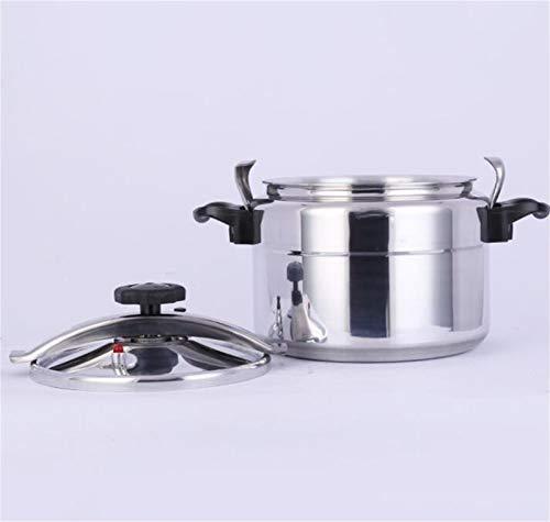 Cocina de presión de aleación de aluminio de gran capacidad, cocina de presión a prueba de explosiones comerciales 9L-75L, olla de presión multifuncional, adecuada para hoteles, escuelas, restaurantes