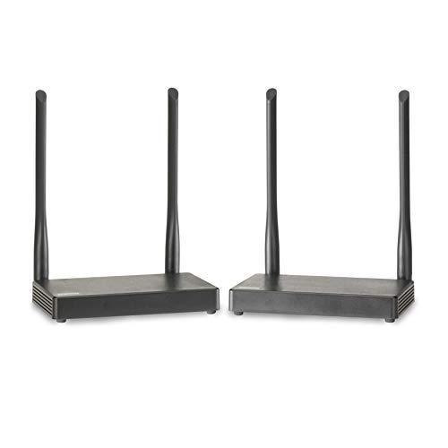 Transmetteur HDMI Sans Fil - Marmitek TV Anywhere Wireless HD - 1080p Full HD - Portée de 50 Mètres à Travers les Murs et les Plafonds - Retour Infrarouge - Emetteur HDMI - Support USB - Loopthrough