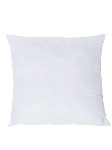 Pack x2 Relleno de fibra para cojínes color blanco (45x45cm)