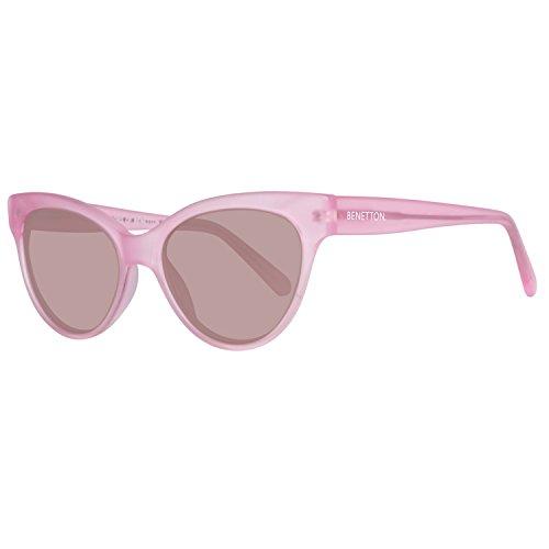 United Colors of Benetton BE998S02 Gafas de sol, Pink, 53 Unisex