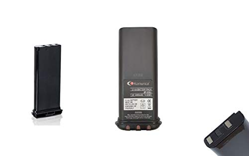 bp-252-li batería compatible ICOM ic-m90e/ic-m21, M31, M32, M33, M35, M36/ic-m2a/gm-1600e–7,4V 2000mAh Li-Ion