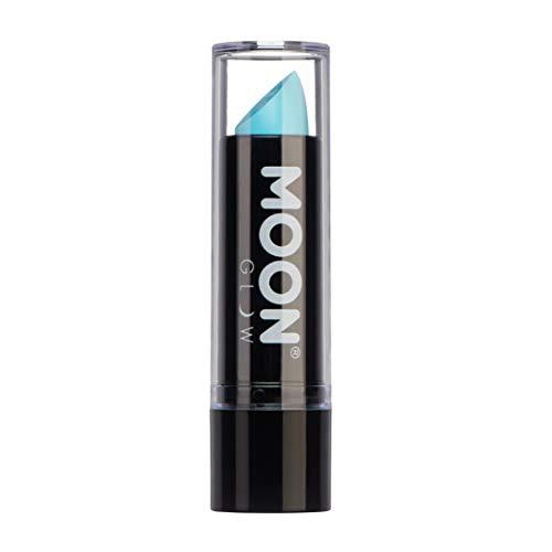 Moon Glow -Neon UV Lippenstift4.5g Pastell Blau –ein spektakulär glühender Effekt bei UV-...