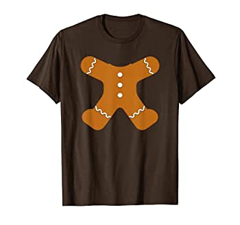 Gingerbread Costume Christmas Xmas Gifts For Kids Boys Girls T-Shirt