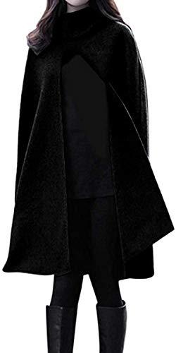 Hoodies for Women Fashion Solid Hooded Sleeveless Bandage Cloak Cosplay Long Outwear Coat