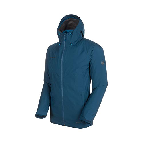 Mammut Herren 3in1 Convey Hooded Hardshell-Jacke mit Kapuze, Wing Teal-Sapphire, S