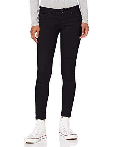 Pepe Jeans Damen Jeans Soho, 999 Black, 34