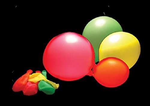 Cotillon d'alsace - 100 ballons Fluorescent assortis