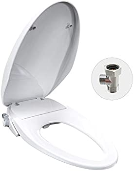 Saniwise Bidet Toilet Seat with Self-Cleaning Dual Nozzles
