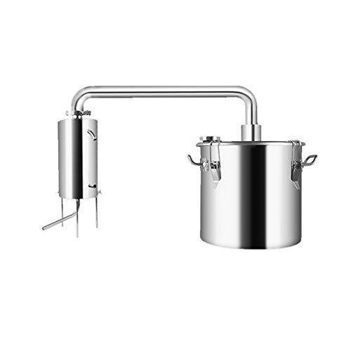 Xu-flask Elaboración de la Cerveza Kit de rocío Puro, 22L / 36L / 50L de Acero Inoxidable Espesar Brandy Destilación de Agua, hidrolato Purificador de Agua, (Size : 50L)