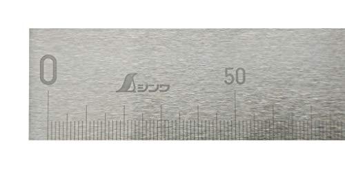シンワ測定(Shinwa Sokutei) 精密級 直尺 JCSS校正証明書付 60cm 14114