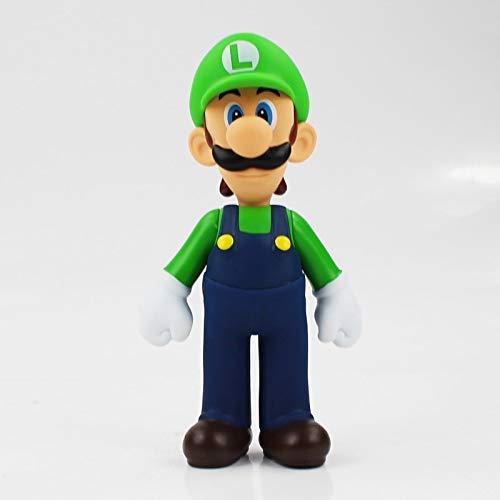 JMHomeDecor Super Mario Toys Super Mario Figures Luigi Yoshi Toad Koopa Bowser Donkey Kong Princess Peach PVC Action Figure Toy Mario Luigi Figure Toy Doll