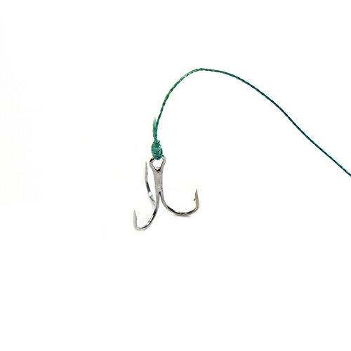 Crochトリプルフックフィッシング炭素鋼釣り4サイズ130個セット