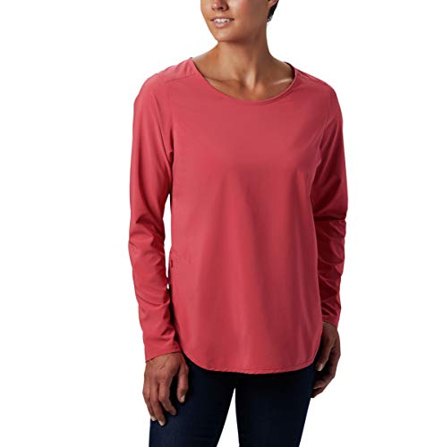Columbia Damen Place to Place Sun Shirt Place to Place M Rouge Pink