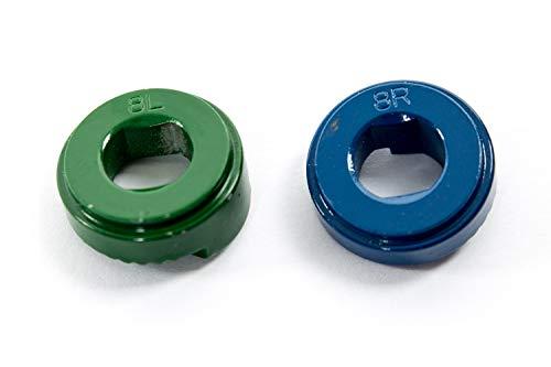 Shimano Nexus Alfine Nabenschaltung Fixierscheibe Sicherungs Scheibe Set 8L grün 8R blau