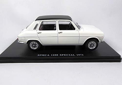 OPO 10 - Salvat 1/24 Collection Car Simca 1200 Special (Simca 1100) 1973 Ref: E018