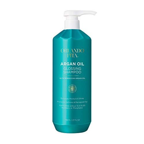 New Orlando Pita Argan Oil Glossing Shampoo, 27 oz.