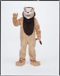 Lion Mascot Complete Costume