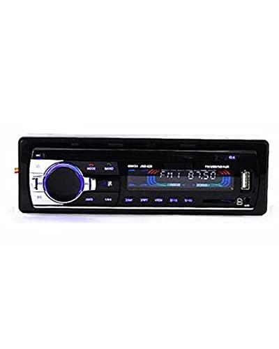 ACD Entrada de Audio estéreo para automóvil ~ Tablero Receptor de Entrada Auxiliar FM SD USB Reproductor de Radio MP3 Radio de automóvil 12V Bluetooth V2.0 JSD520